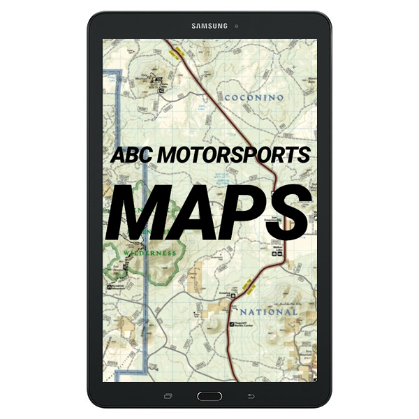 New Samsung 9 6 E Tablet Loaded With Off Road Trails OHV Arizona & Southern  California Edition
